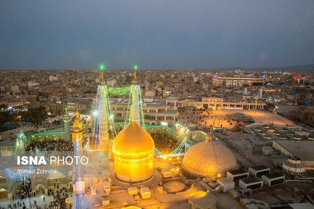شهر کریمه اهل بیت غرق در شادی میلاد باب الحوائج