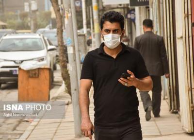 خیزش گرد و غبار در جنوب تهران و سه استان دیگر