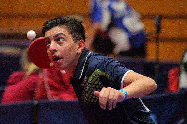 پینگ پنگ باز ایران با تیم منتخب آسیا به مصاف حریفان جهانی می رود