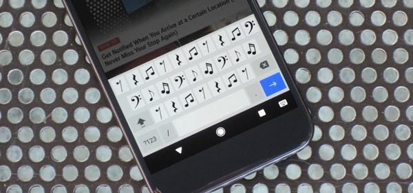چگونه صفحه کلید اندروید را موزیکال کنیم