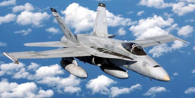 جنگنده اف-18 آمریکا در کالیفرنیا سقوط کرد