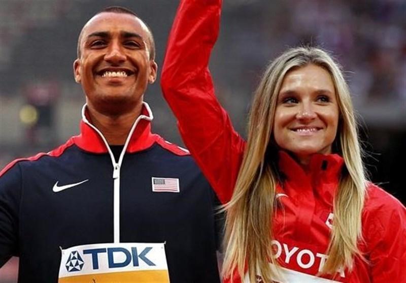 زوج مدال آور المپیک، سفیران مسابقات دوومیدانی قهرمانی جهان در قطر