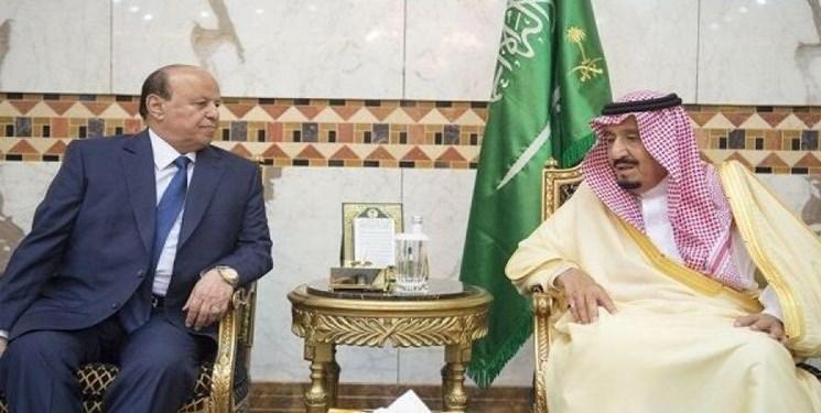 پادشاه عربستان و رئیس جمهور مستعفی یمن در ریاض دیدار کردند