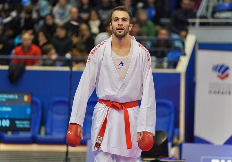 عسگری: خوشحالی کسب نخستین سهمیه المپیک تاریخ کاراته را در مسئولان ورزش ندیدم، مسئولیتم سنگین تر شد