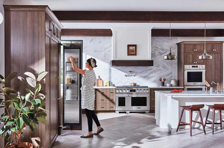 بهترین ایده های طراحی آشپزخانه در سال 2018
